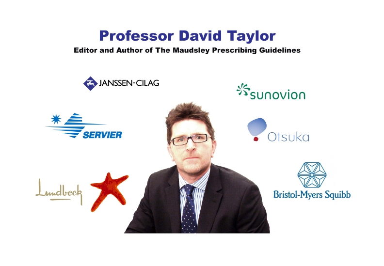 Professor David Taylor, Maudsley Gudelines