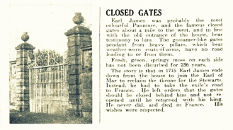 3 Feb 1951 Closed Gates (Panmure)