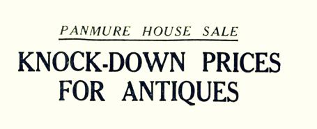 7 Aug 1952 PanmUre House sale