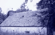 Craigmill cottage, river Earn (now demolished) 2