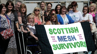 Scottish Mesh survivors