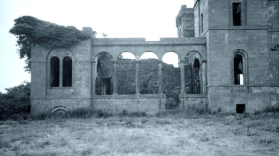 Rossie Castle, Montrose, July 1957 (11)
