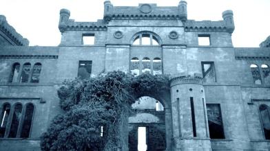Rossie Castle, Montrose, July 1957 (12)
