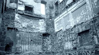 Rossie Castle, Montrose, July 1957 (13)