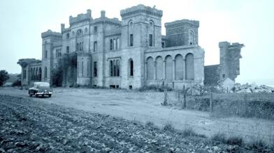 Rossie Castle, Montrose, July 1957 (17)