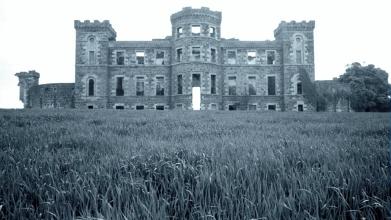 Rossie Castle, Montrose, July 1957 (5)