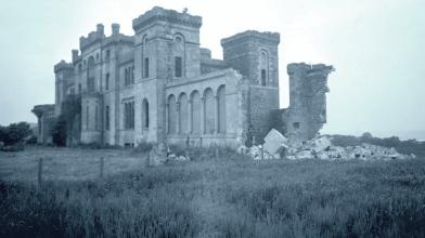 Rossie Castle, Montrose, July 1957 (9)