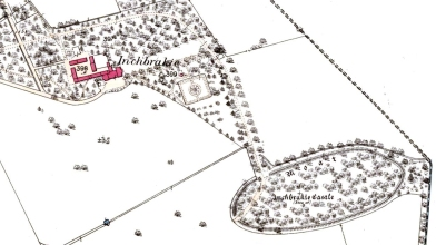 Inchbraikie - 1st OS map