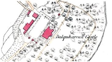 1856 dalquharran hoose map