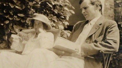 by Lady Ottoline Morrell, vintage snapshot print, 1913