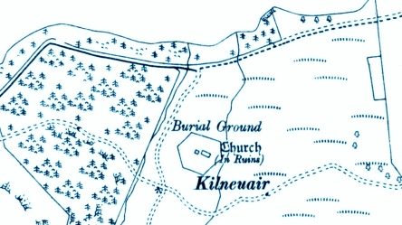 1898 map of Kilneuair
