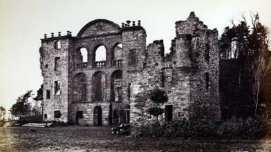 Craighall castle ruin (1)