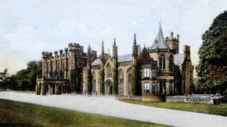 Crawford-Priory-Postcard