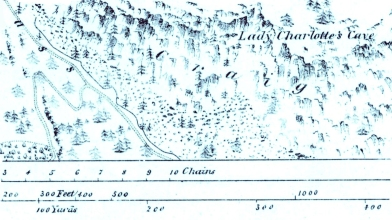 Lady Charlotte's Cave 1863