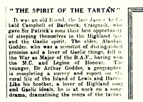 The Spirit of Tartan